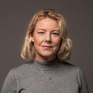 Porträttbild på Ebba Hult, samordnare Nollvision cancer