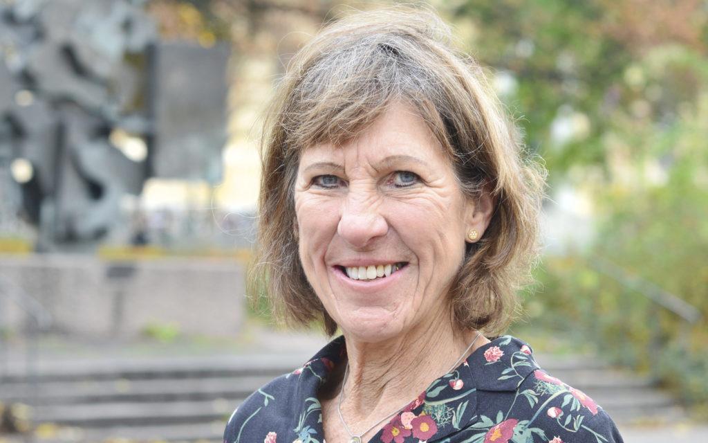 Porträtt på Karin Liljelund, vice ordförande i lungcancerföreningen
